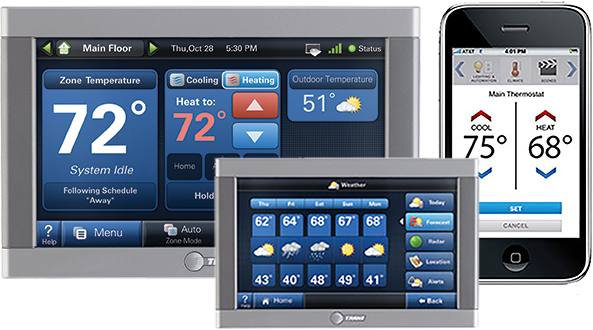 trane smart thermostat and controls
